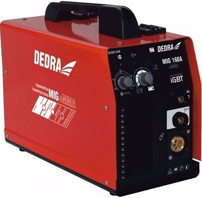 Obrázok pre výrobcu DEDRA DESMi160M Mini invertorová zváračka MAG/MMA