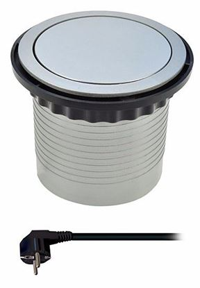 Obrázok pre výrobcu SOLIGHT PP100 zásuvka kancelárska, 4 zásuvky, 1,5 m