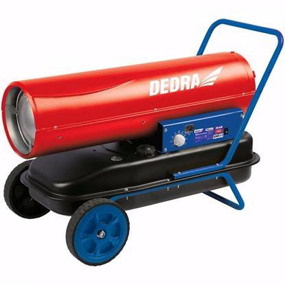 Obrázok pre výrobcu DEDRA DED9950 Naftový ohrievač 20 kW s termostatom