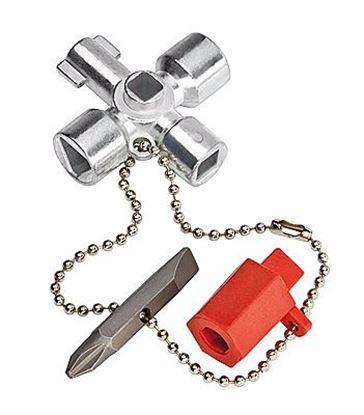 Obrázok pre výrobcu KNIPEX Kľúč na rozvodné skrine 001103