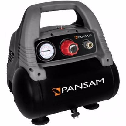 Obrázok pre výrobcu Pansam A077016 Kompresor mini bezolejový 1 100 W 8 bar