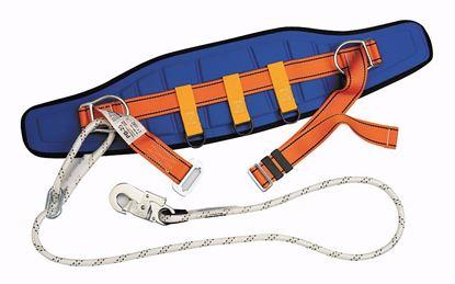 Obrázok pre výrobcu Lanex PPB20MLB1015L2 polohovací pás s lanom