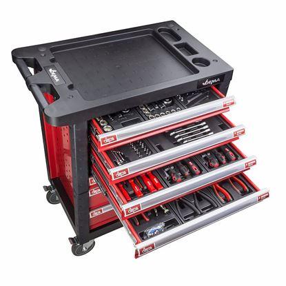 Obrázok pre výrobcu DEMA Dielenský vozík s náradím 220 dielny 20896D