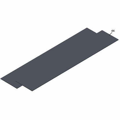 Obrázok pre výrobcu KAUFMANN 10.421.01 náhradné protišmykové podložky 13 x 59 cm pre rezačky