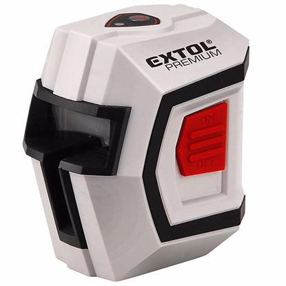 Obrázok pre výrobcu EXTOL PREMIUM Laser liniový, krížový samonivelačný 1H1V