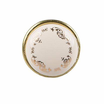 Obrázok pre výrobcu Úchytka DC porcelánová DG19 knopka AB-MLK-3