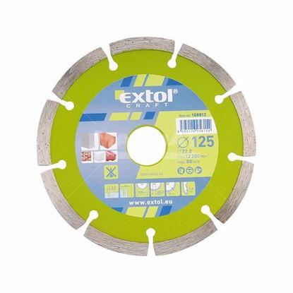 Obrázok pre výrobcu Extol craft 108812 diamantový kotúč 125 mm