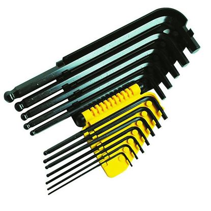 Obrázok pre výrobcu STANLEY 11-dielna sada imbusových kľúčov s guličkou