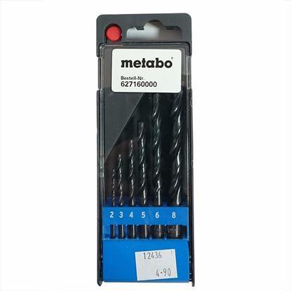 Obrázok pre výrobcu Metabo 627160 sada vrtákov do kovu 6-dielna