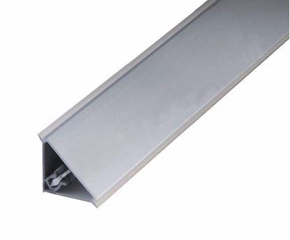 Obrázok pre výrobcu Tesniaca lišta L220 nerez/hliník brúsený 4 m