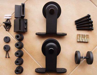 Obrázok pre výrobcu Kovanie k jednokrídlovým posuvným dverám RLD-13