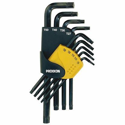 Obrázok pre výrobcu Proxxon 23944 sada L klúčov TORX 9-dielna