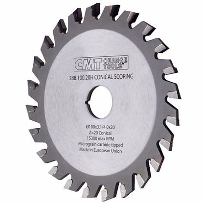 Obrázok pre výrobcu CMT Predrezový kotúč kónický pre CNC stroje