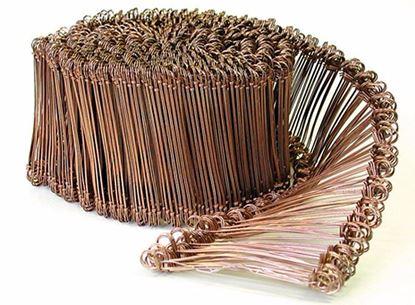 Obrázok pre výrobcu Drôt viazací s okom pomedený 1 000 ks