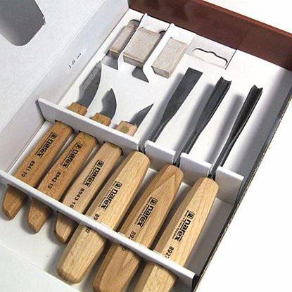 Obrázok pre výrobcu NAREX 8946-10 Rezbárske dláta sada 6-dielna