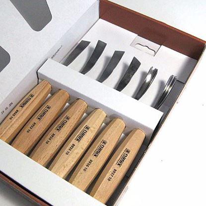 Obrázok pre výrobcu Narex 8947-10 rezbárske dláta sada 6-dielna
