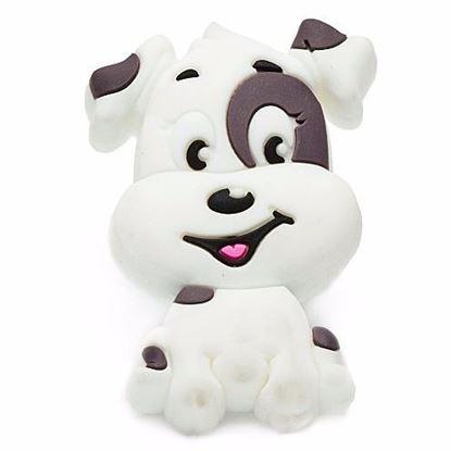 Obrázok pre výrobcu Úchytka DC GD29-B knopok - psík biely