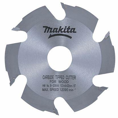 Obrázok pre výrobcu Makita B-20644 lamelovací kotúč 100 x 22 mm 6 zubov