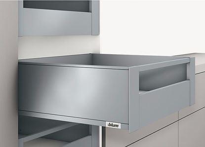 Obrázok pre výrobcu Blum Legrabox pure Vnútorný výsuv - reling - C