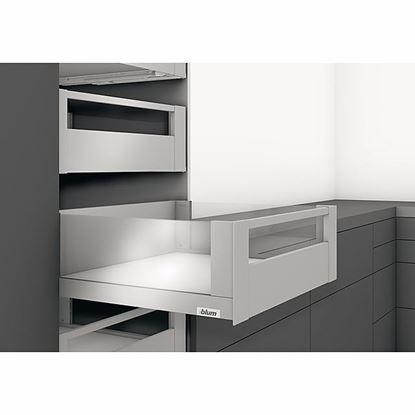 Obrázok pre výrobcu Blum Legrabox free Vnútorný výsuv - reling - C