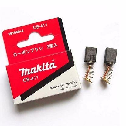 Obrázok pre výrobcu MAKITA CB411 uhlíky 191940-4