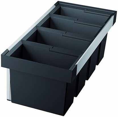 Obrázok pre výrobcu Blanco FLEXON II 90/4 Odpadkový kôš 3x19l 1x16l 521475