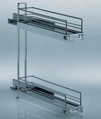 Obrázok pre výrobcu KESSEBOHMER Výsuv na fľaše 3D 150 mm