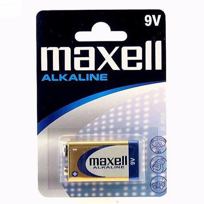 Obrázok pre výrobcu Batéria MAXELL 9 V 6LR61 alkaline