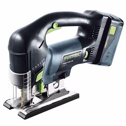 Obrázok pre výrobcu FESTOOL PSBC 420 Li 5,2 EB-Set Aku. priamočiara píla 201386