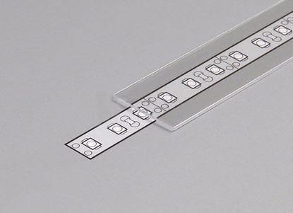 Obrázok pre výrobcu Krycia lišta na LED plastová E 2 m