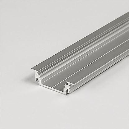 Obrázok pre výrobcu LED lišta GROOVE 14 EF/TY  2m elox A3020020