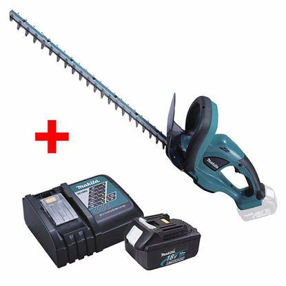 Obrázok pre výrobcu Makita DUH523Z Aku. nožnice na živý plot + akumulátor a rýchlo-nabíjačka