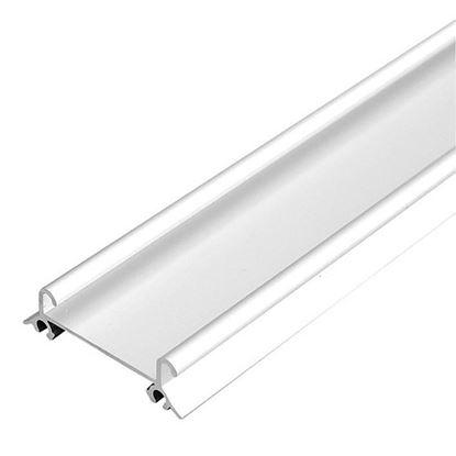 Obrázok pre výrobcu LAGUNA profil dolný 82091 biely lesk