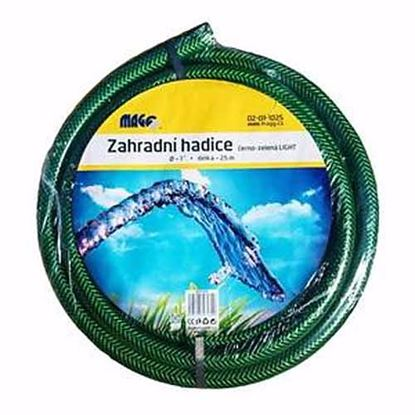 Obrázok pre výrobcu Hadica na vodu čierno-zelená LIGHT 25 m