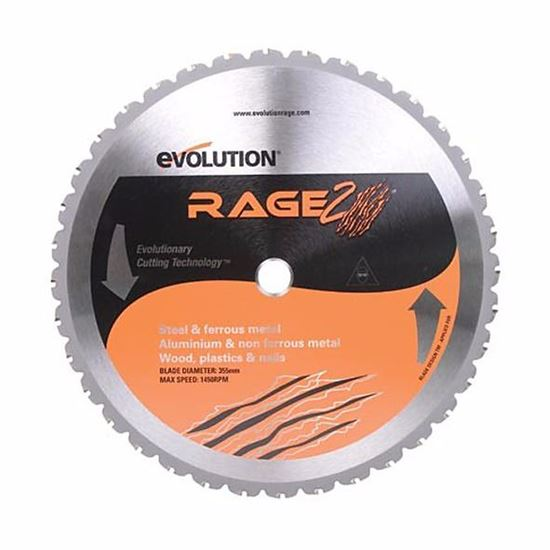 Obrázok EVO pílový kotúč RAGE multifunkčný EVO035536