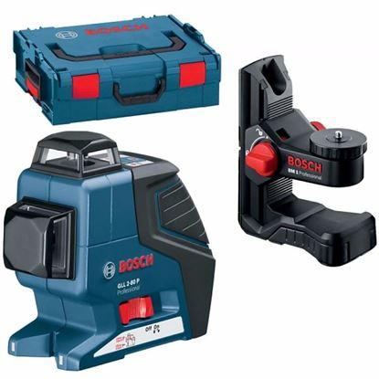 Obrázok pre výrobcu Bosch laser GLL 2-80 P + BM 1, L-Boxx 0601063208