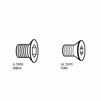 Obrázok pre výrobcu CMT F099-23500 Skrutka M3,5 x 5 x 7,2 D8,8 Torx15
