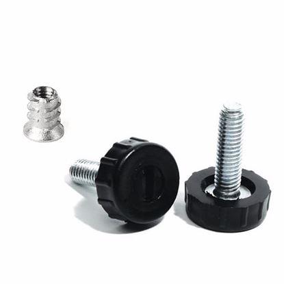 Obrázok pre výrobcu Rektifikačná skrutka iko M6 x 27 + Závrtná matica 26922-1/26922-5