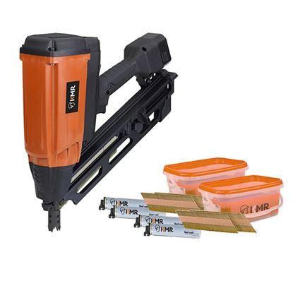 Obrázok pre výrobcu KMR 3890-0010 GAS Klincovačka + 2x vedierko klincov s plynom