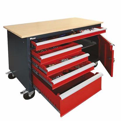 Obrázok pre výrobcu Güde pojazdný pracovný stôl 301929