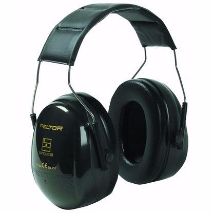 Obrázok pre výrobcu Mušľové slúchadlá H520A PELTOR OPTIME II ochranné