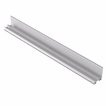 Obrázok pre výrobcu ZOBAL 03100505 Spodný profil s PVC tesnením 3,5 m