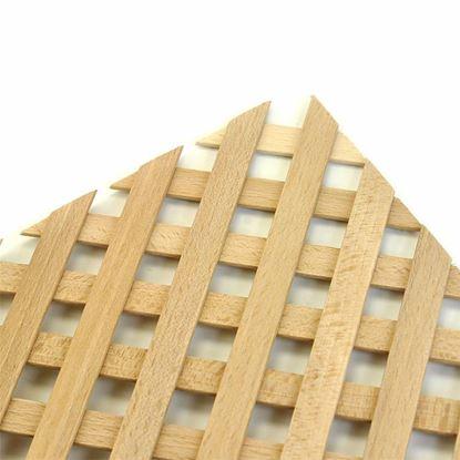 Obrázok pre výrobcu Drevená mriežka ozdobná