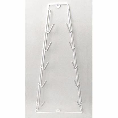 Obrázok pre výrobcu Stojan na pokrievky/pokrývky hrncov biely