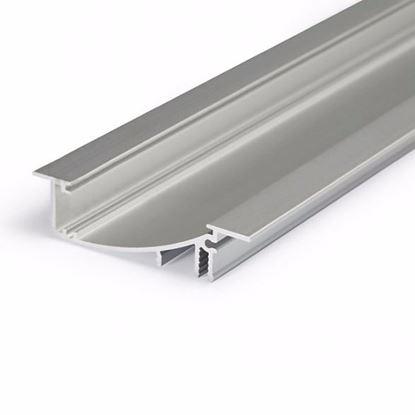 Obrázok pre výrobcu Topmet LED lišta FLAT8 2m H/UX strieborná 23050020