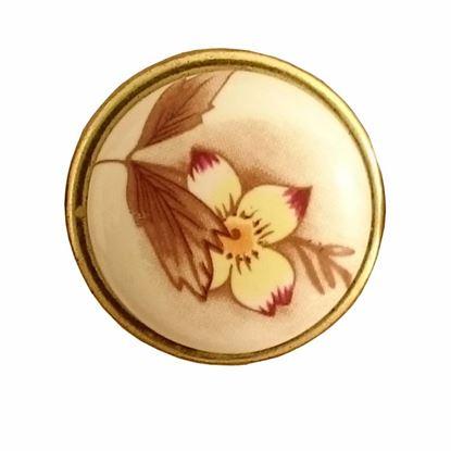 Obrázok pre výrobcu Úchytka DC porcelánová DG19-AB-MILK-7 knopka