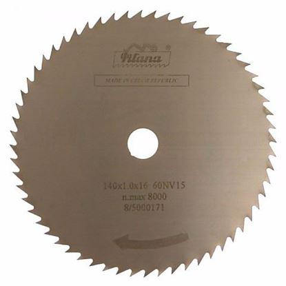 Obrázok pre výrobcu Pilana pílový kotúč 140 x 1 x 22,2 mm, z120, 5316