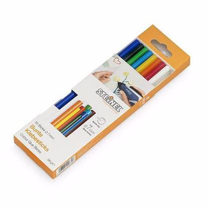 Obrázok pre výrobcu Steinel 006969 Tavné lepidlo (Tyčinky) 7 x 150 mm 16 ks, 96 g frebné