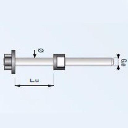 Obrázok pre výrobcu Gamma Zinken 848 tŕň na tanierovú frézu S8 mm