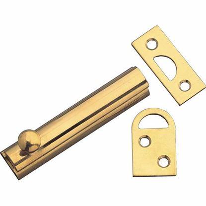 Obrázok pre výrobcu Zástrč AMIG model 60 mm posuvná zlatá 898